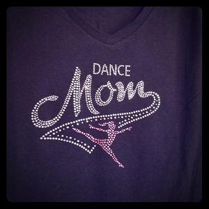 New Dance Mom bling T-shirt